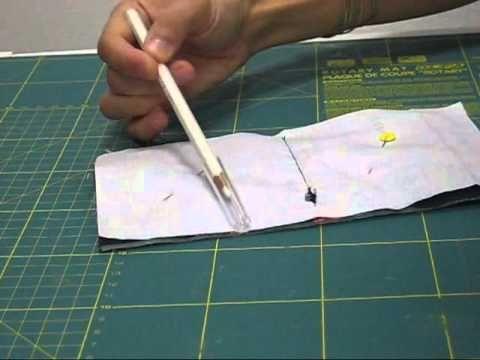 Nairamkitty DIY Tutorial de como hacer un guarda agujas de una manera sencilla, con cierre de corchete. Espero que os guste!!! Comentad y suscribiros. Las me...