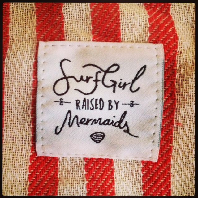 Raised by Mermaids, inspired by the sea. www.surfgirlbeachboutique.com