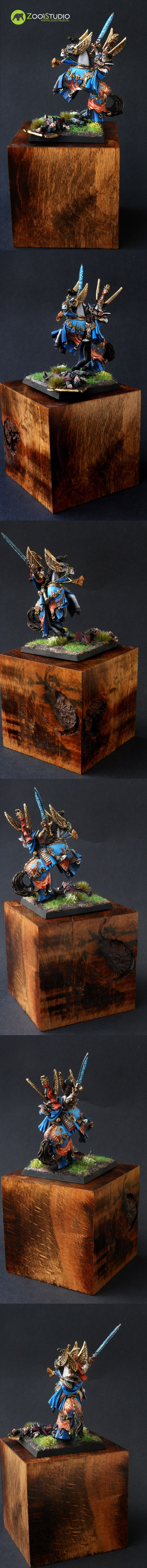 Tyrion from Games Workshop; painted by Doe from Zoo Art Studio  www.zootales.pl