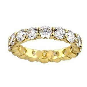 3.00 Karat Memoire Diamantring 585er Gelbgold