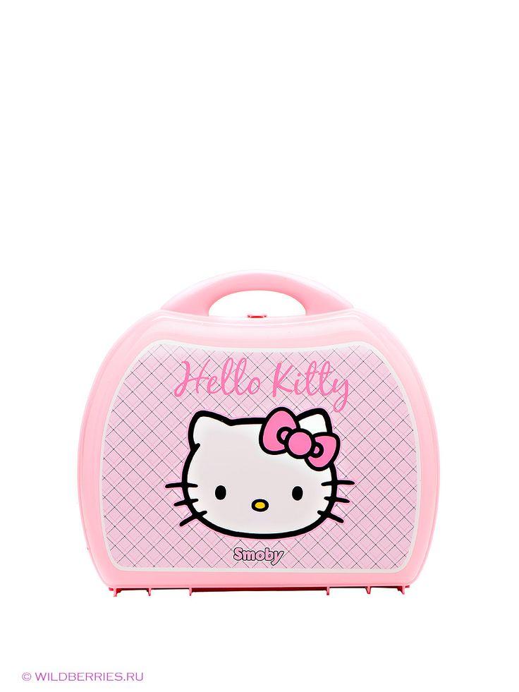"Мини-кухня в чемоданчике ""Hello Kitty"" Smoby"