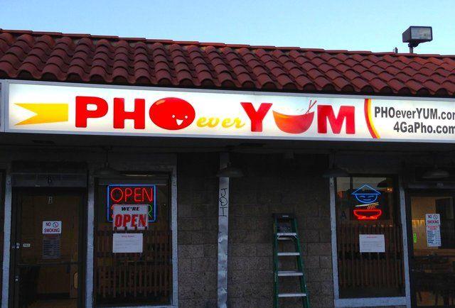 Pho Restaurants - Best Pho Restaurant Name-Puns In LA