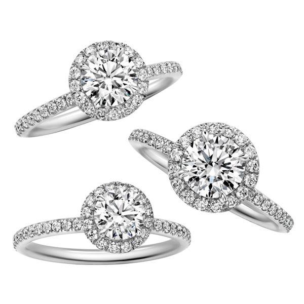 マイクロパヴェ・リング - Harry Winston(ハリー・ウィンストン)の婚約指輪(エンゲージメントリング)ハイブランドのエンゲージリング・婚約指輪まとめ一覧。