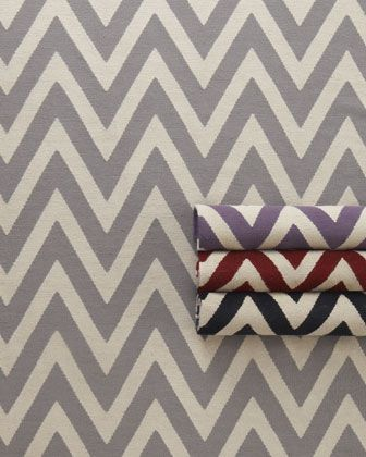 chevron rugs // great for adding a bit of personality to your space.