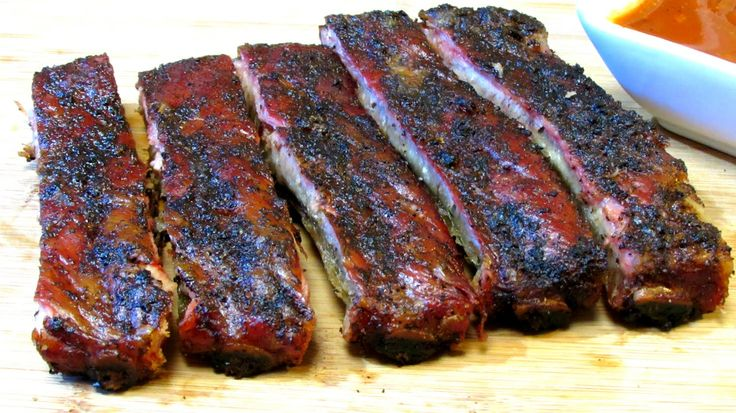 Simple Basic BBQ Spare Ribs - How to Barbecue Ribs