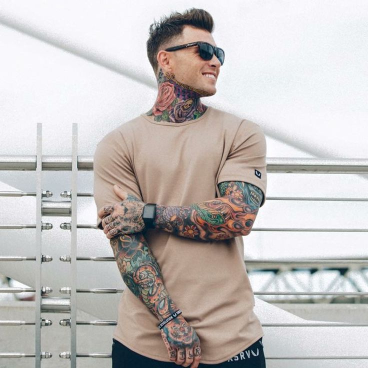 #AliExpress 2017 Summer new mens brand t-shirt Fashion personality shirts Solid color O-Neck short sleeve tee tops Fitness Leisure clothes (32805250425) #SuperDeals