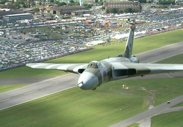 XH558, last flying Vulcan Bomber