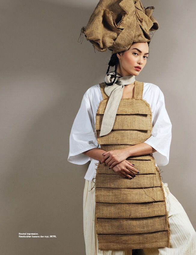 "as Head Stylist Assistant, ""Narasi Elegi Kultural"" - Harper's Bazaar December 2016"