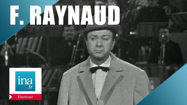 """Pas de """"citations"""" mais des """"moments drôles""""  Fernand Raynaud """"Les croissants"""" - Archive INA"""