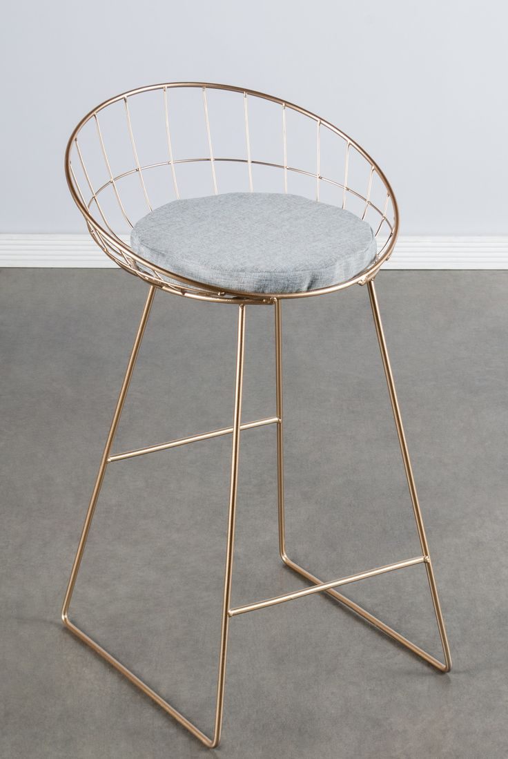 """Statements by J Kylie 26"""" Bar Stool with Cushion & Reviews 