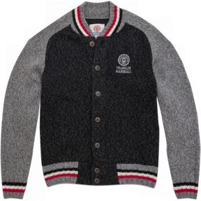 Varsity jacket-style men's sweater | Franklin & Marshall