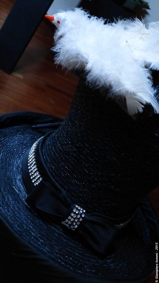 """Name of the hat: """"The magic hat"""" !!   Titolo dell'opera: 'Il cappello magico' !   Author: Paimar Headwear srl.  #HatsDistrict"""