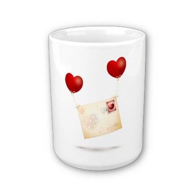 Message of Love, #mug by PinkHurricane #Zazzle store