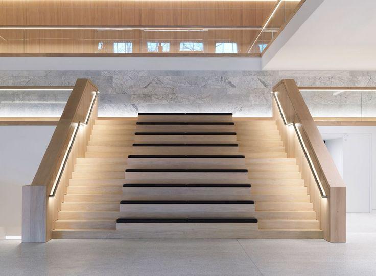 Design Museum - Dinesen Oak wooden stairs