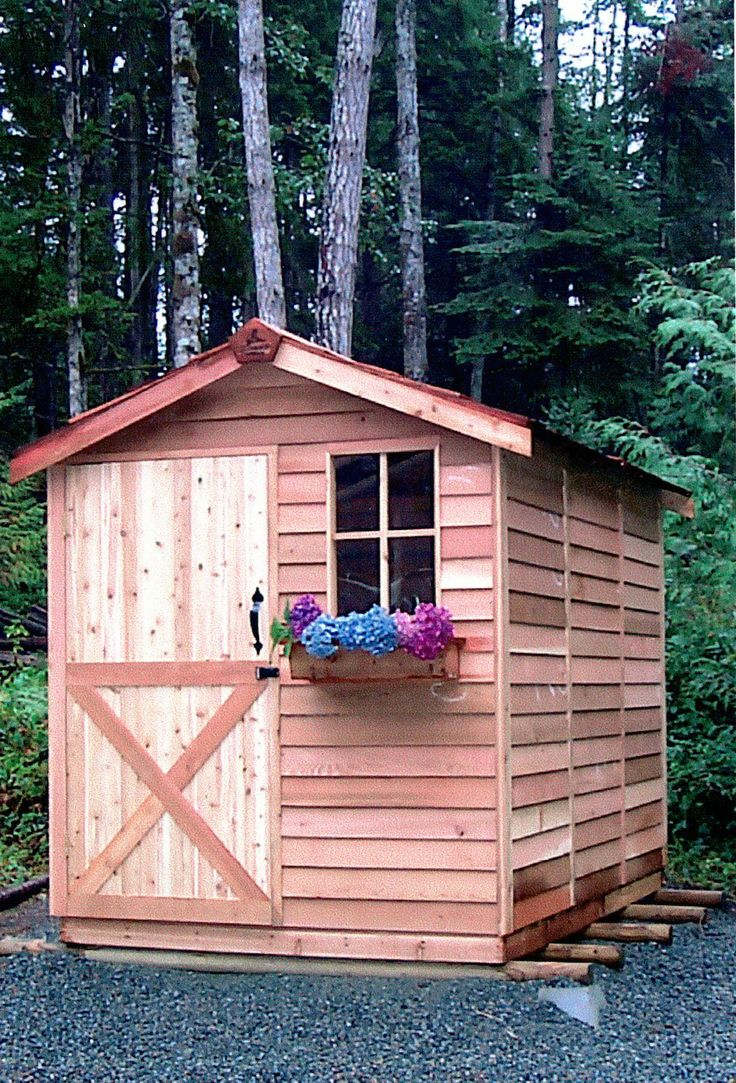 30 best images about cedarshed storage sheds on pinterest for Small shed kits