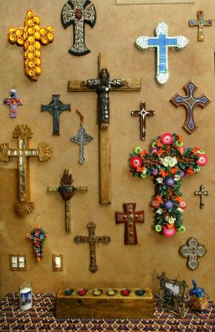 Collection of crosses