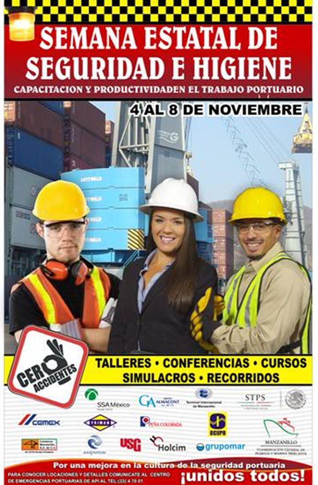 Semana Estatal de Seguridad e Higiene, Capacitación y Productividad en el Trabajo Portuario