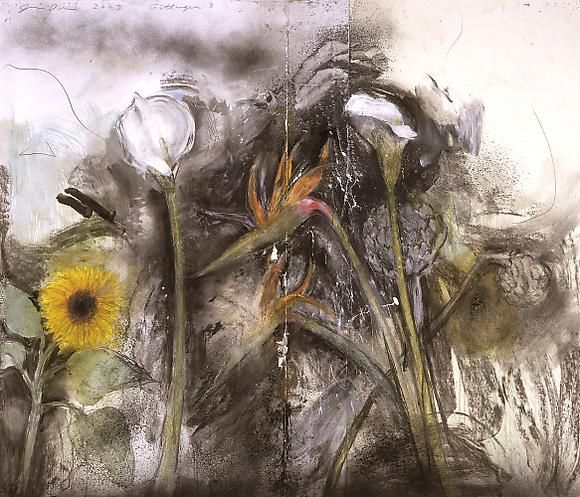 jim dine | Jim Dine - flowers - Pictify - your social art network