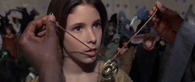 """Steven Spielberg was given Auryn (Atreyu's necklace) by director Wolfgang Peterson as a """"thank you"""" gift for his help with the film. 