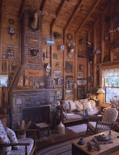 Best 75 Rustic Cabin Living Room Images On Pinterest | Home Decor | Home,  Live And Architecture