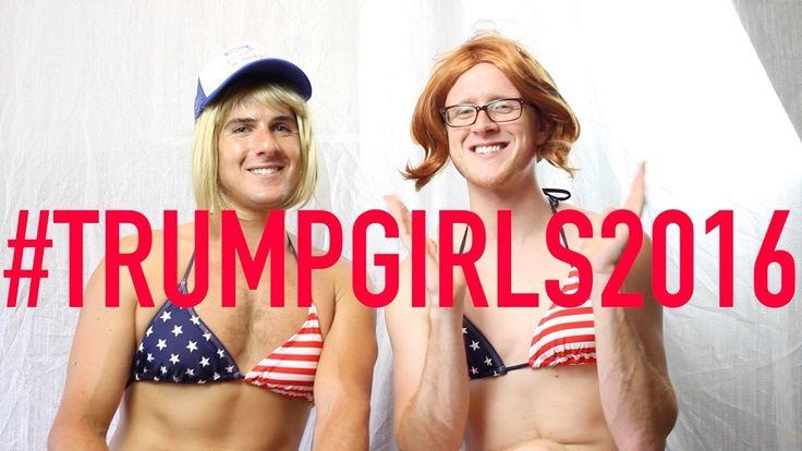 Trump Girls Spread the Vote 11/7/16