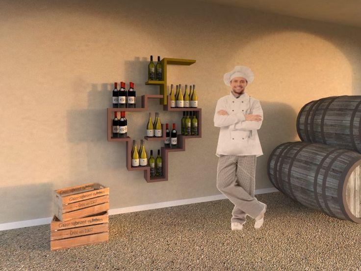 We love good wine! Discover our Lago design composition designed by our interior designer Alberto...ready for you! http://www.malfattistore.it/prodotto/composizione-21/ #vinitaly #wine #shelves #lagodesign #malfattistore #interiordesign #modernfurniture