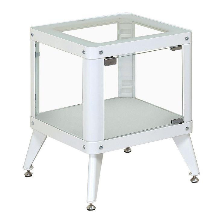 Clara Modern Vibrant Color Metal End Table -