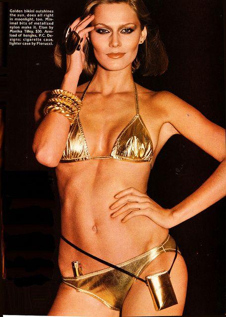 2d4863fc817ac103e0014733b33dc9f2 gold bikini francesco scavullo 17 best the swimming seventies images on pinterest 70s fashion,70s Swimwear Fashion