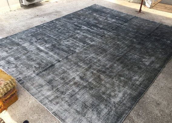 Oversize Vintage Rug, Oushak Rug,overdyed Carpet, 6u00277x11u00277ft,Area Rug,  205x359cm, Home And Living, Floor Rugs, EclecticRug, Ethnic Rug 4947