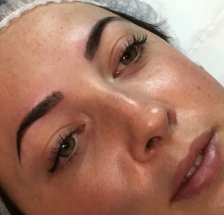 Beautiful brows for this lovely lady!natural everyday without the need for pencil