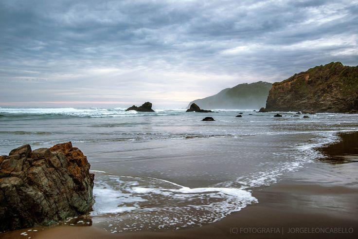 Playa solitaria - Llico Bajo (Patagonia - Chile)
