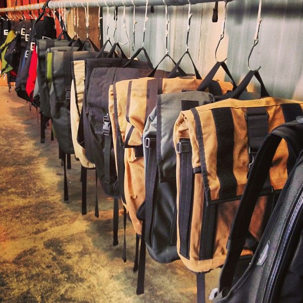 Backpacks and Clothes
