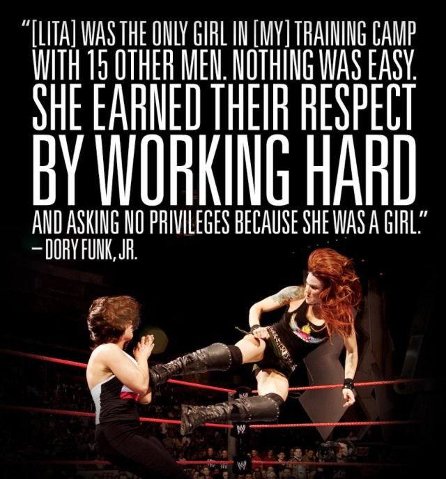 WWE Hall of Fame Diva Lita