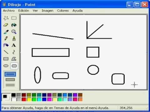 Sencillo manual de Microsoft Paint