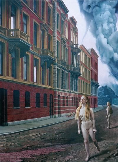 Carel Willink - 'Fuga Monialium' - 1967