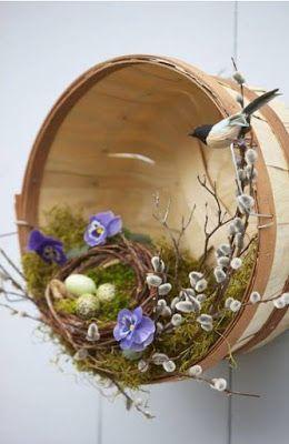 НАША СТРАНА МАСТЕРОВ: Весенние декоративные венки