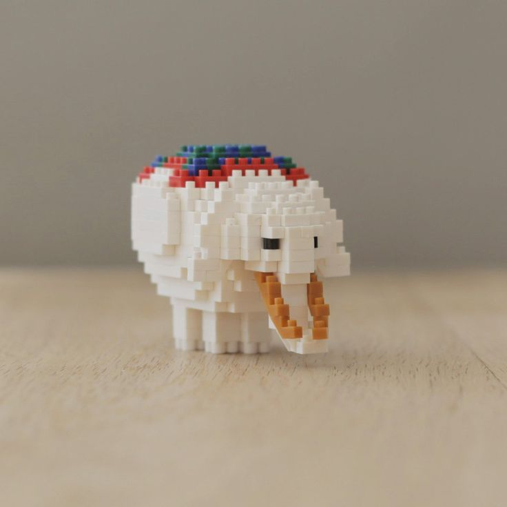 伊藤若冲《鳥獣花木図屏風》の白象がなんとナノブロックに! - ツイナビ | ツイッター(Twitter)ガイド