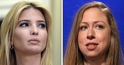 Ivanka Trump and Chelsea Clinton team up to defend Malia Obama after reports about her college life