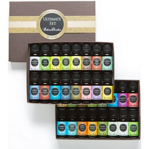 Add the ultimate pleasures of aromatherapy to your everyday life with this collection of 32 of our essential oils and synergy blends.