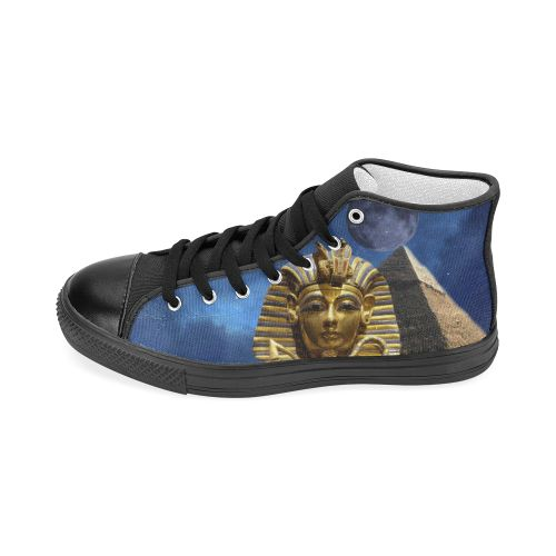 King Tut and Pyramid Men's Classic High Top Canvas Shoes. FREE Shipping. FREE Returns.