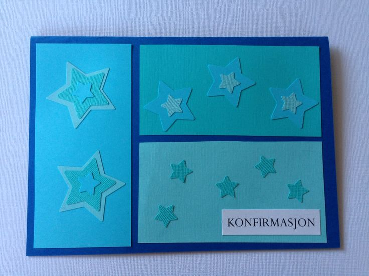 Twinkel twinkle little star ⭐️ #konfirmasjon #kort #card #norway #norwegian #blue #stars #boy