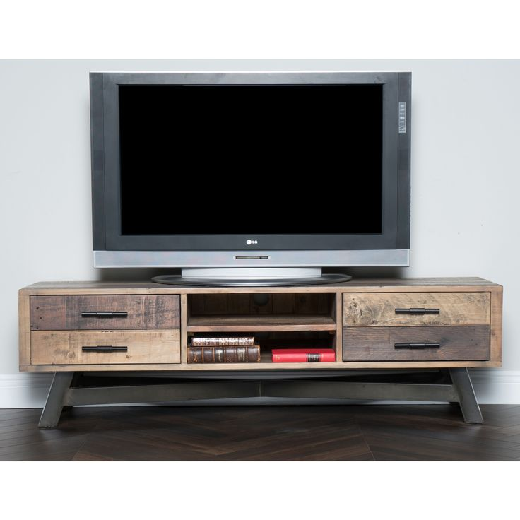 1000 ideas about reclaimed wood tv stand on pinterest wood tv stands tv stands and rustic - Reclaimed wood tv stand ideas ...