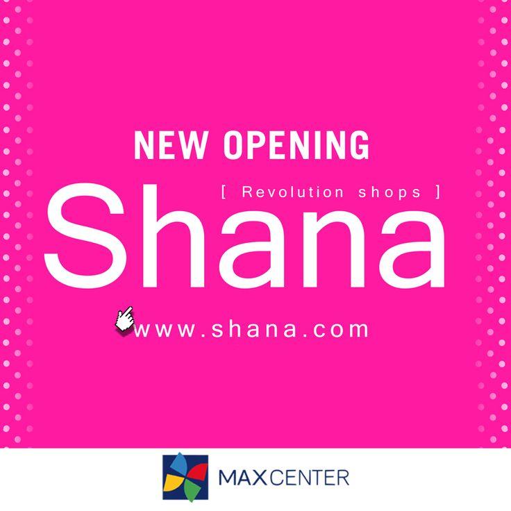 Hoy tenemos una gran noticia que daros:   ¡ Shana Shops llegará a Max Center muy pronto!  Seguro que estáis deseando que abra, en cuanto esté lista os avisaremos