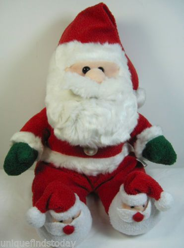 "Windsor Collection Sears Plush Santa Claus 14"" Stuffed Christmas Toy"