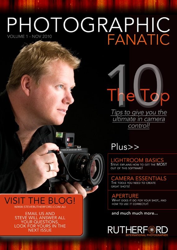 Issue 1 FREE Online Photographic Fanatic Magazine - discover the latest photography apps and equipment, and pro photography secret tips and tricks they use to take better photos.