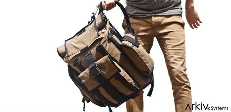 Arkiv System // Weatherproof Modular Backpacks // Overview