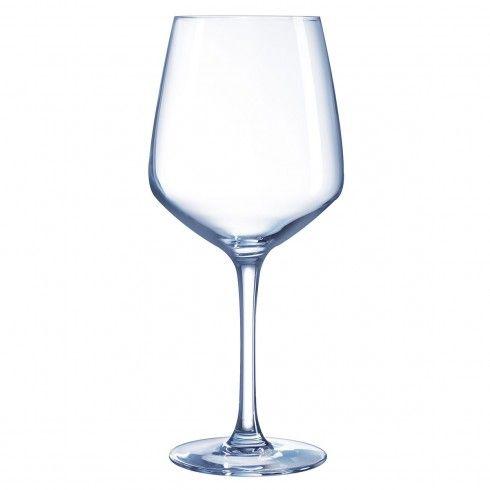 Verrre à vin blanc millesime
