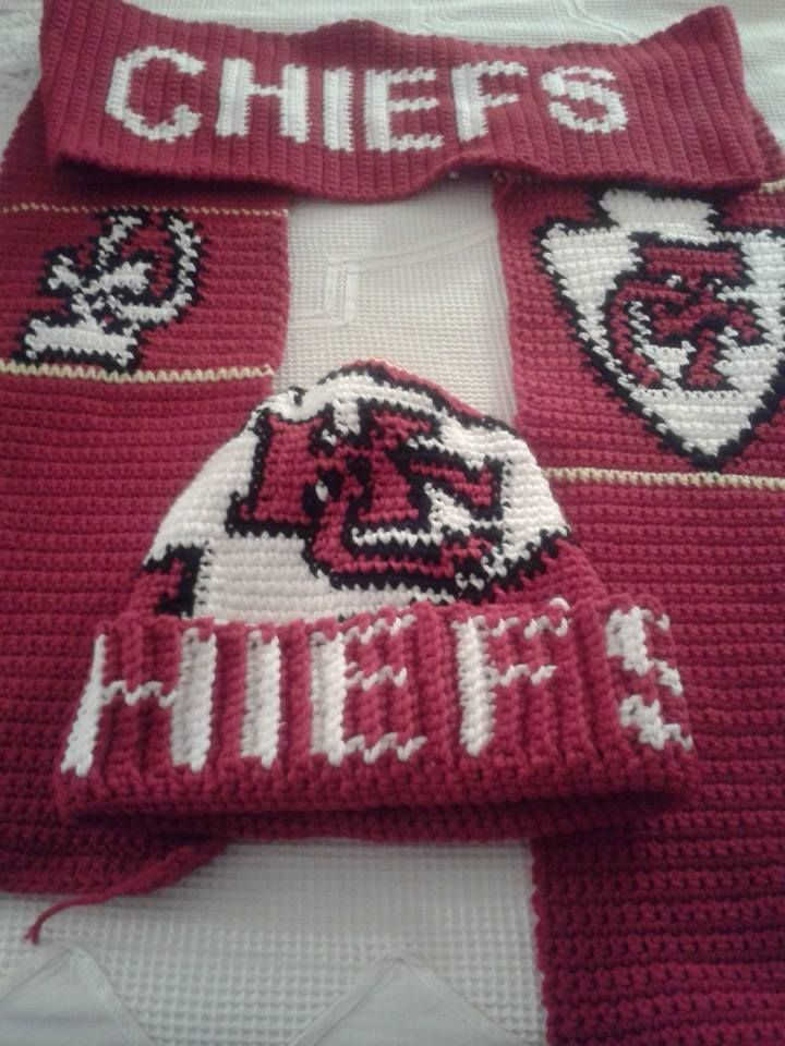 Crochet Pattern Kansas City Chiefs Afghan : 1000+ images about Crafts/Crochet on Pinterest Free ...
