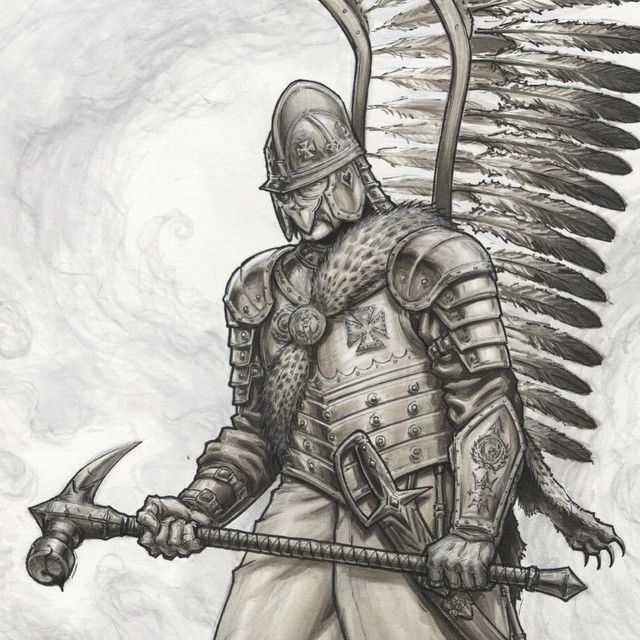 Hussar with hammer