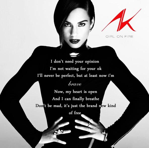 Lyrics to alicia keys songs